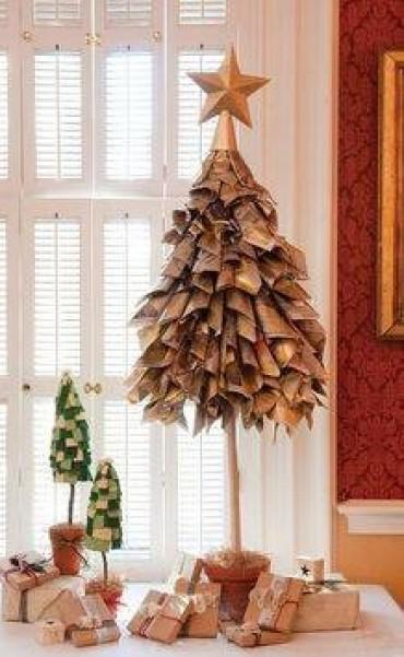 Adornos navideños reciclando o reusando By Carlina Soria Lui