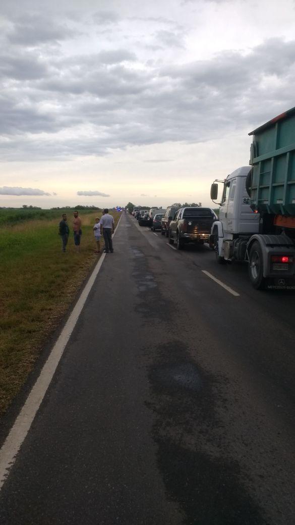 Fatal accidente ésta madrugada en ruta 65 a la altura del Parque Balneraio municipal