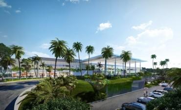 Se puso en marcha la modernización del Aeropuerto Internacional de Puerto Iguazú