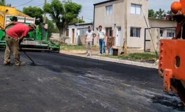 Finalizaron las 26 cuadras de pavimento en los distintos barrios de la ciudad