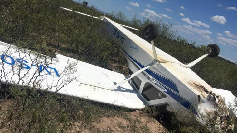 Mendoza. Una avioneta se estrelló y sus ocupantes resultaron ilesos