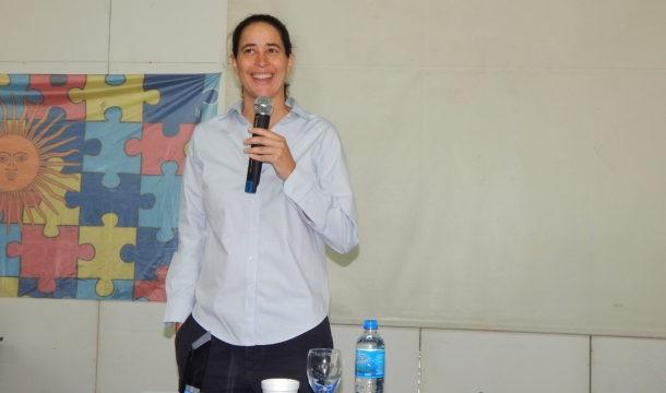 Espectro autista: Mas de  400 personas asisten al taller de Alexia Rattazzi