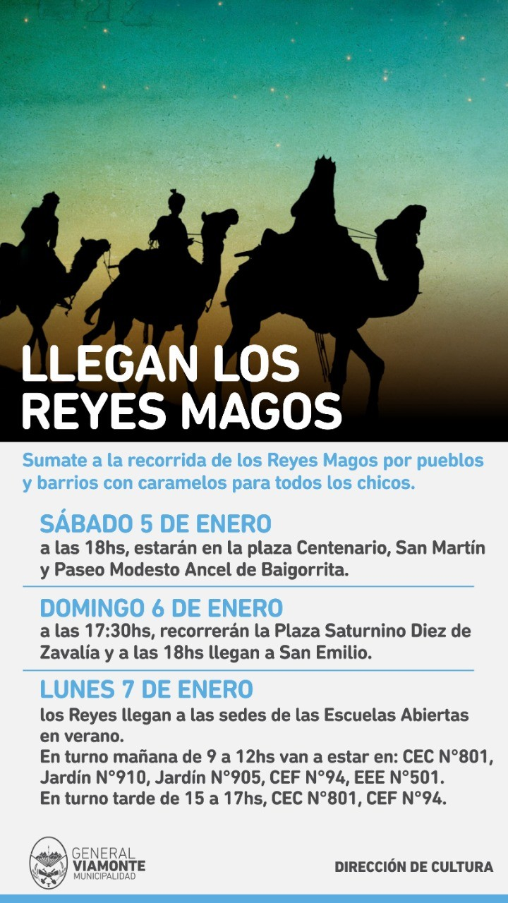 La Magos Reyes Los Pueblos De Sumate A Barrios Recorrida Y Por UqzMGSVp