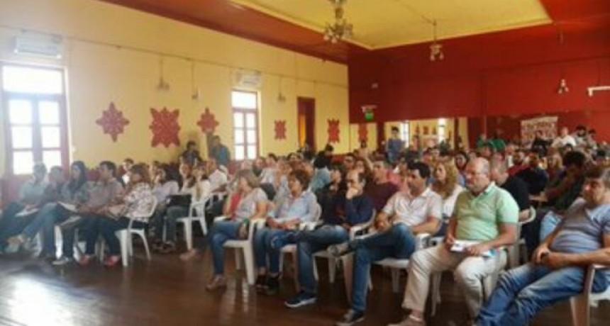 Encuentros de concejales en Los Toldos