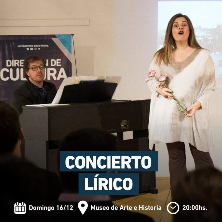 Museo de Arte e Historia: se realizará un concierto lírico y popular