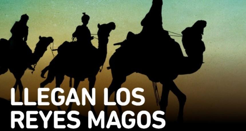 Sumate a la recorrida de los Reyes Magos por pueblos y barrios.