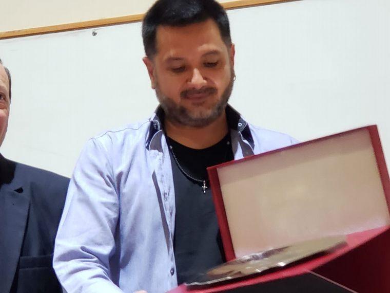 Jorge Rojas fue reconocido por su compromiso social en Salta