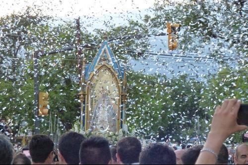 Más de 186.000 devotos  visitaron a la Virgen del Valle