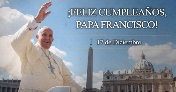 El Papa Francisco cumple 83 años de vida