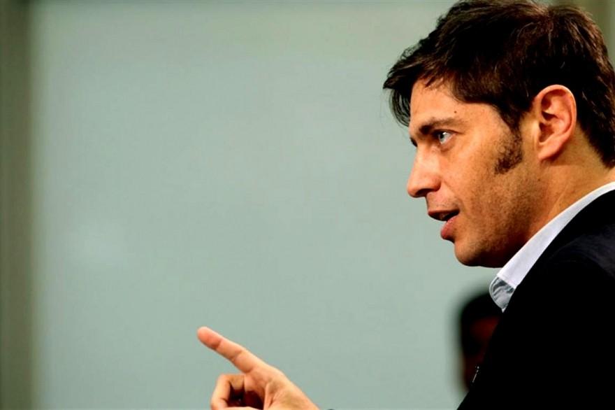 Kicillof: «La ley nos da instrumentos para atender la crisis»