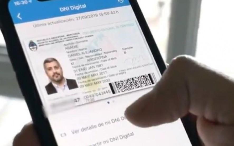 DNI digital: el Banco Central autorizó su utilización en entidades bancarias