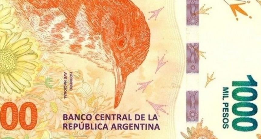 En dos años el billete de mil pesos perdió el 71% de su valor