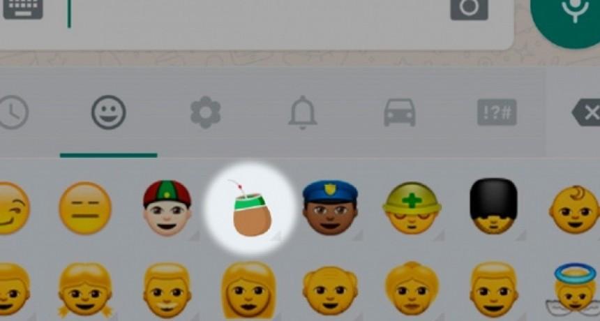 Android está de estreno: el emoji del mate ya está en Whatsapp y explotaron las redes sociales