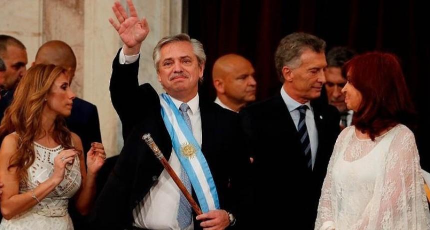 Discurso de asunción de Alberto Fernández por Hernán Andrés Kruse