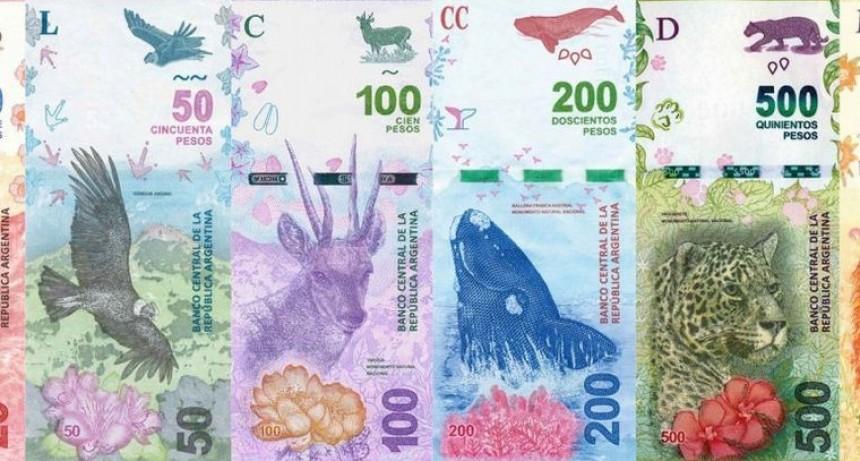 El Banco Central analiza lanzar billetes de $ 2000 o $ 5000