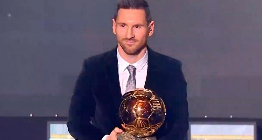 Messi, único argentino en el equipo de la década elegido por France Football