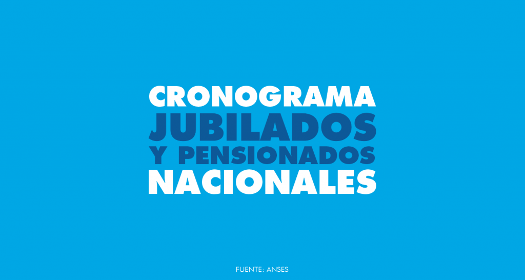 JUBILADOS NACIONALES | Cronograma de pago Diciembre 2020 – Con aumento