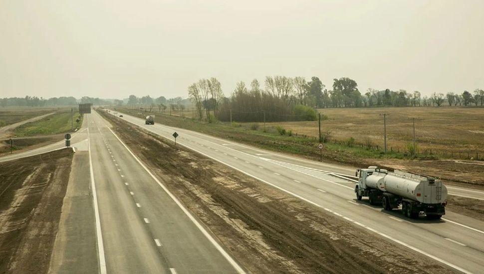 Habilitan la totalidad del tramo entre Areco y Giles de la autopista Junín - Luján