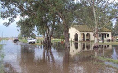 Provincia pide estar alerta por más lluvias