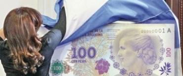 Sin billetes de Evita en los cajeros