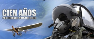 100 Años cumplió la fuerza aérea Argentina