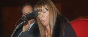 La Senadora Villa y la Ruta Provincial Nº 65.