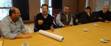 Reunión hidraulica con productores