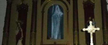 Río Seco: conmoción por la aparición de imagen de la Virgen del Rosario