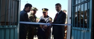Inauguró la nueva sede de la Subjefatura Zonal de Seguridad Rural en el Distrito de Lincoln