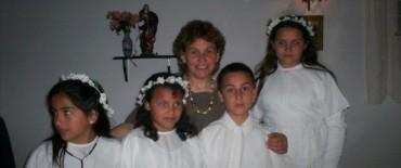 Primeras comuniones en la localidad de San Emilio