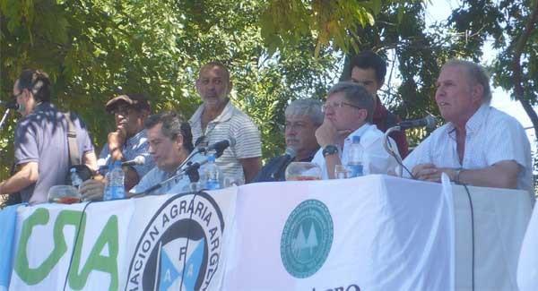 Cerca de 2.000 productores estuvieron presentes en la asamblea general de Pehuajó