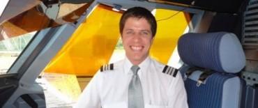 Un Toldense: Martín Díaz  piloto aeronáutico de LAN