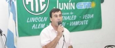 """Julio Miguenz: """"La presidenta deberá escuchar el reclamo de los trabajadores"""""""