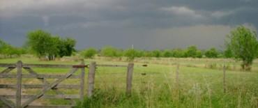 Registros de lluvias en la zona