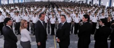 Récord de policías egresados en la Vucetich