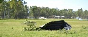 Tres Algarrobos devastado por temporal