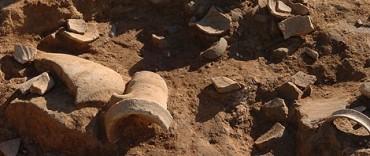 Encontraron restos arqueológicos en Martínez de Hoz Los hallaron profesionales de la Universidad Nacional del Centro