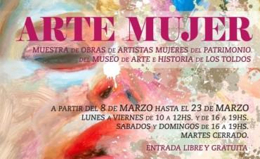 ARTE MUJER: En el museo local