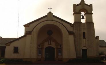 Campanazos en las Iglesias de todo el país por el Papa. El tañir de las campanas se produjo exactamente a las 12. El canal TN transmitió dese el Monasterio Benedictino