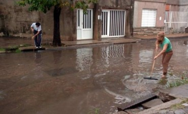 La ciudad de Santa Fe en alerta por intensas lluvias: cayeron 168 milímetros en cinco horas