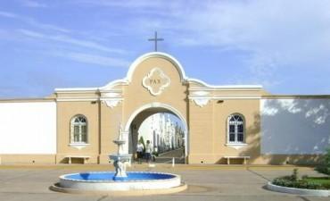"""Cementerio Municipal Cerrado: """"día 1º de mayo"""""""