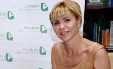 Karina Rabolini llega el 7 de mayo