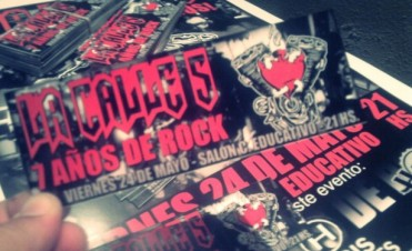 Festejos por un nuevo año cargado de rock: Calle 5