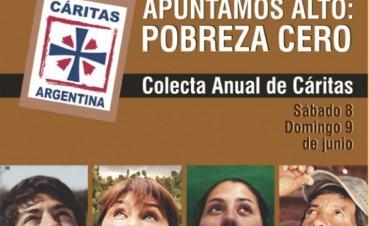 """""""Apuntemos Alto: Pobreza Cero"""" - Es el lema de la Colecta Anual que será el 8 y 9 de Junio"""