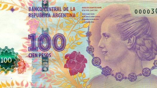 Moneda argentina: Nueva serie del billete de Evita