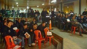 BOMBEROS VOLUNTARIOS: Días atrás participaron en la región de una nueva capacitación