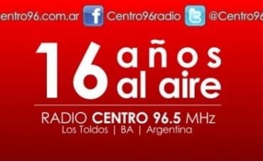 Feliz cumple Radio Centro...