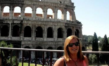 Marita, Albertina, Stella e Lita ¡¡¡BUON VIAGGIO!!! (Profesora y alumnas de la Escuela de Idioma Italiano de la Asociación Italiana viajan a Italia a un curso de Idioma y Cultura Italiana.