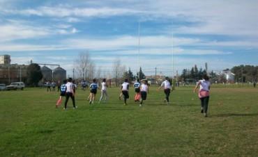 3° entrenamiento de Rugby femenino de marabuntas Rugby Club conjuntamente con el plantel de Cla Lauquen Rugby de la ciudad de 9 de Julio