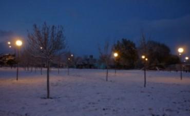 Intensa nevada sobre Viedma y Carmen de Patagones